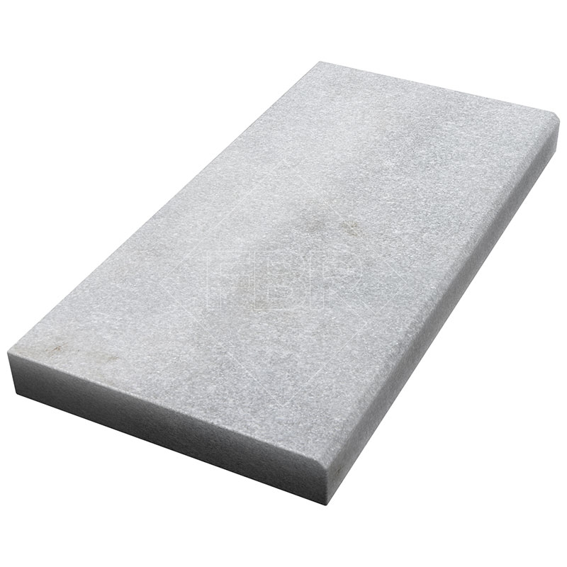 16 24 Bianco Turco Fine Picked Marble Modern Coping 5cm Fbr Marble